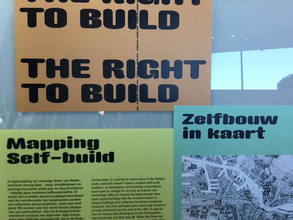 Exhibition The Right to Build – t/m 8 dec 2019
